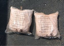 Two new bags of lava rock in Morris, Illinois