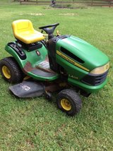 "John Deere 42"" Mower & Cart in Conroe, Texas"