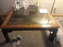 Beautiful 3.5x3.5 Smoke Glass Top Coffee Table in Tacoma, Washington