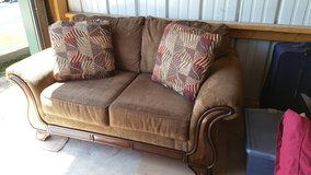 Almost new couch and loveseat. in Chicago, Illinois