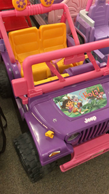 Dora Power Wheels - Works - comes with battery/charger in Fort Leonard Wood, Missouri