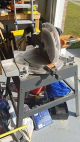 rigid miter saw with stand in Camp Lejeune, North Carolina