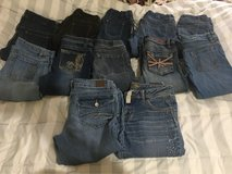 girls size 14-16 jeans in Baytown, Texas