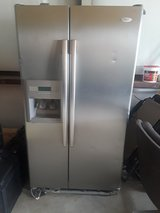 Stainless Steel Whirlpool Refrigerator W@W!! in Spring, Texas