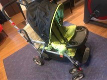JOOVY CABOOSE DOUBLE STROLLER SIT AND STAND in Okinawa, Japan