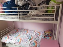 White bunk bed in Lakenheath, UK