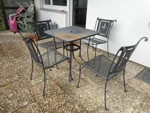 Patio table & 4 chairs in Stuttgart, GE