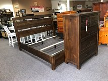 king bed and chest of drawers in Camp Lejeune, North Carolina