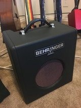 Behringer BX-108 Thunderbird Bass Amp in Travis AFB, California