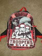 Star Wars Stormtrooper Backpack in Naperville, Illinois