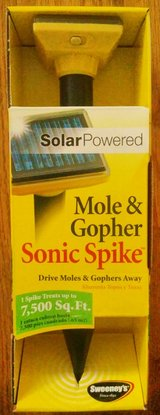 Sweeney's Mole and Gopher Solar Spikes in Naperville, Illinois