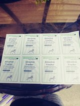 8 attaction tickets to brookfield zoo usually 12 a piece in Chicago, Illinois