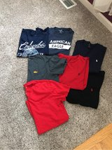 men's medium shirts- 7 -AE, Polo and Columbia in Glendale Heights, Illinois