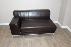 IKEA Leather couch in excellent condition in Kingwood, Texas