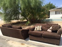 Couche and love seat micro-suede in 29 Palms, California
