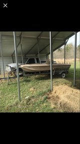 boat and trailer for sale. Taking offers on truck in Leesville, Louisiana