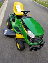 """2016 John deer D130 . 22hp Briggs and Stratton.  77 hours of use.  42"""" cutt in Plainfield, Illinois"""