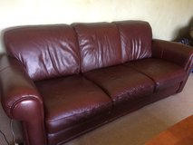 2 Leather Couches in Chicago, Illinois