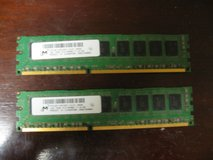 2 Gigabytes DDR3 PC3-8500 Memory in Kingwood, Texas