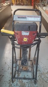 Central Machinery 15 Amp, 120 Volt Breaker Hammer with Trolley and Bits in Fort Campbell, Kentucky