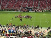 San Francisco 49 ers vs Los Angeles Chargers in Travis AFB, California