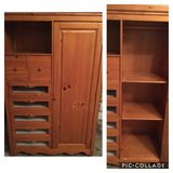 Wood Armoire for nursery in Chicago, Illinois