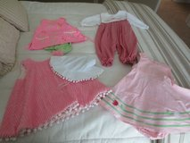 Girls size 6 months, 4 outfits in Fort Rucker, Alabama