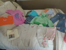 Girls size 6 shorts, skirts, jeans, tops, 17 pieces in Fort Rucker, Alabama