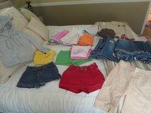 Girls size 5 shorts, skirts, jeans, tops, hoodie, dress in Fort Rucker, Alabama