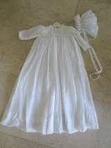 Sarah Louise Ceremonial Christening Gown with Bonnet in Fort Rucker, Alabama