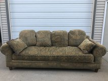 Large floral couch Good condition in Naperville, Illinois
