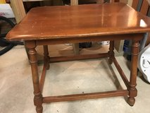 maple end table in Algonquin, Illinois