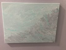 Hand painted Pour Painting in Beaufort, South Carolina
