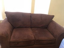 Brown Sofa and Love Seat Set. Smoke and Pet Free Home in Schofield Barracks, Hawaii