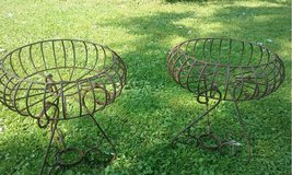 Wrought Iron Planters in Westmont, Illinois