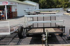 5X8X4 Tilt trailer. in Hopkinsville, Kentucky
