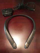 LG TONE PLATINUM® Bluetooth® Wireless Stereo Headset HBS-1100 Black in Travis AFB, California