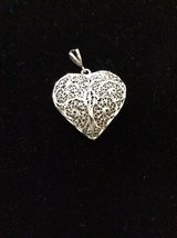 925 Silver Heart Pendant in Conroe, Texas