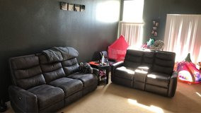Living Spaces sofa and love seat in Camp Pendleton, California