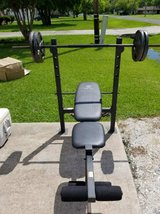 Weight Bench/Metal Weights in Baytown, Texas