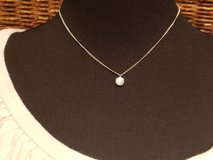 CZ Diamond Pendant Necklace in St. Charles, Illinois