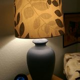 Ceramic table lamp in Travis AFB, California