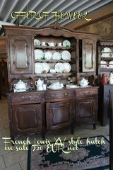 antique French Louis XV style hutch in Stuttgart, GE
