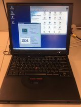 VINTAGE IBM 390E Thinkpad Laptop *WORKING* GREAT CONDITION! Circa 1992-1994 in Camp Pendleton, California