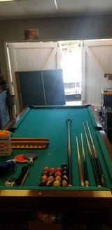 Pool Table with removable ping pong Table on top in Camp Pendleton, California
