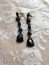 Chico's black costume jewelry earrings in Spring, Texas