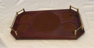 Waterford Wood Decanter and Rock / Wine Glass Tray in Naperville, Illinois