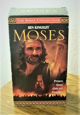 moses on vhs 2 tapes in Alamogordo, New Mexico