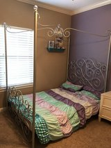 Silver FULL size princess bed in Kingwood, Texas