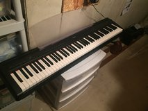 Yamaha p 85 digital piano. Weighted 88 key with pedal in Bolingbrook, Illinois